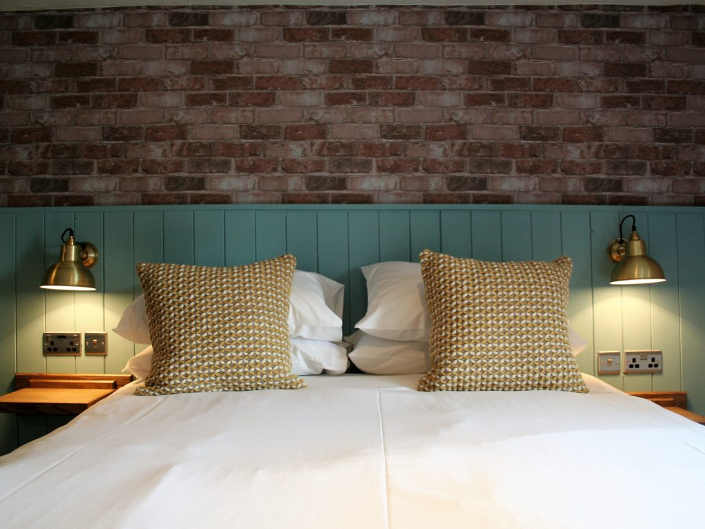 great en suite bedrooms at The Bay Horse pub Masham